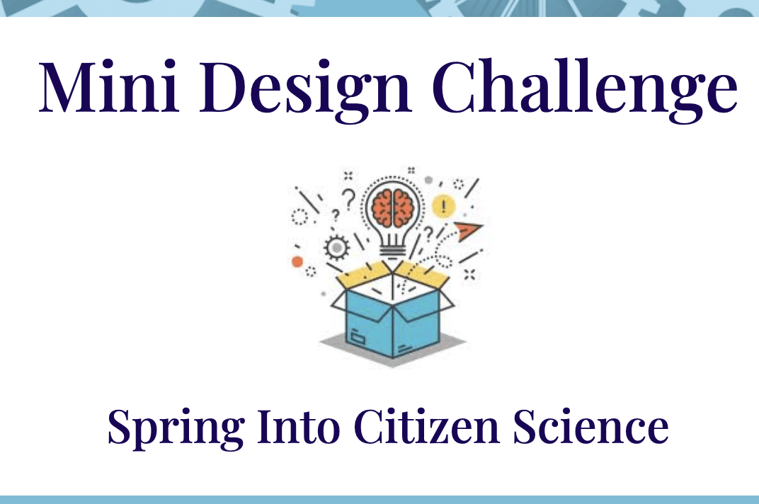 Mini Design Challenge Spring Into Citizen Science